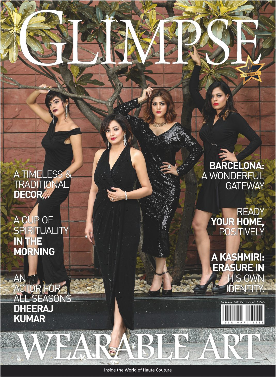 Cover Story Glimpse Magazine
