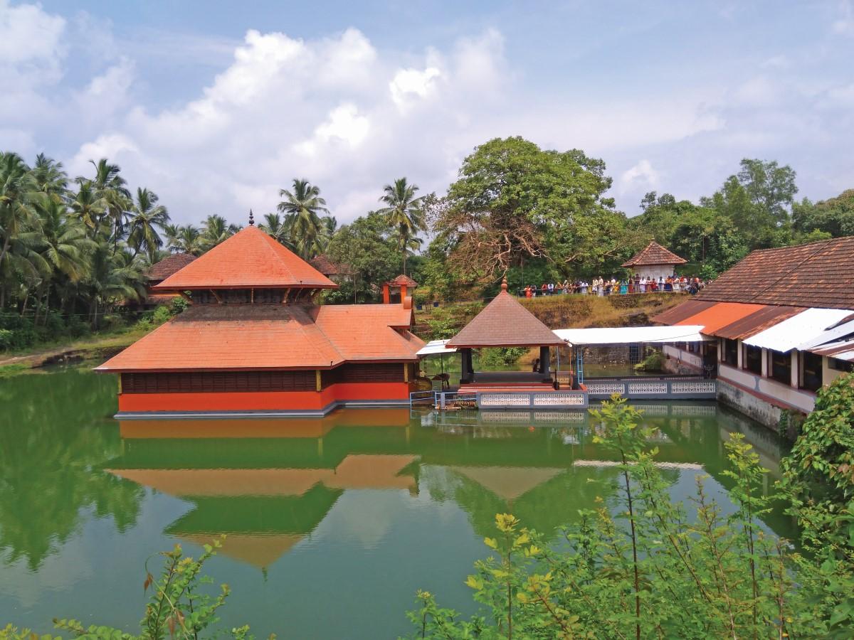 Ananathpura Lake Temple