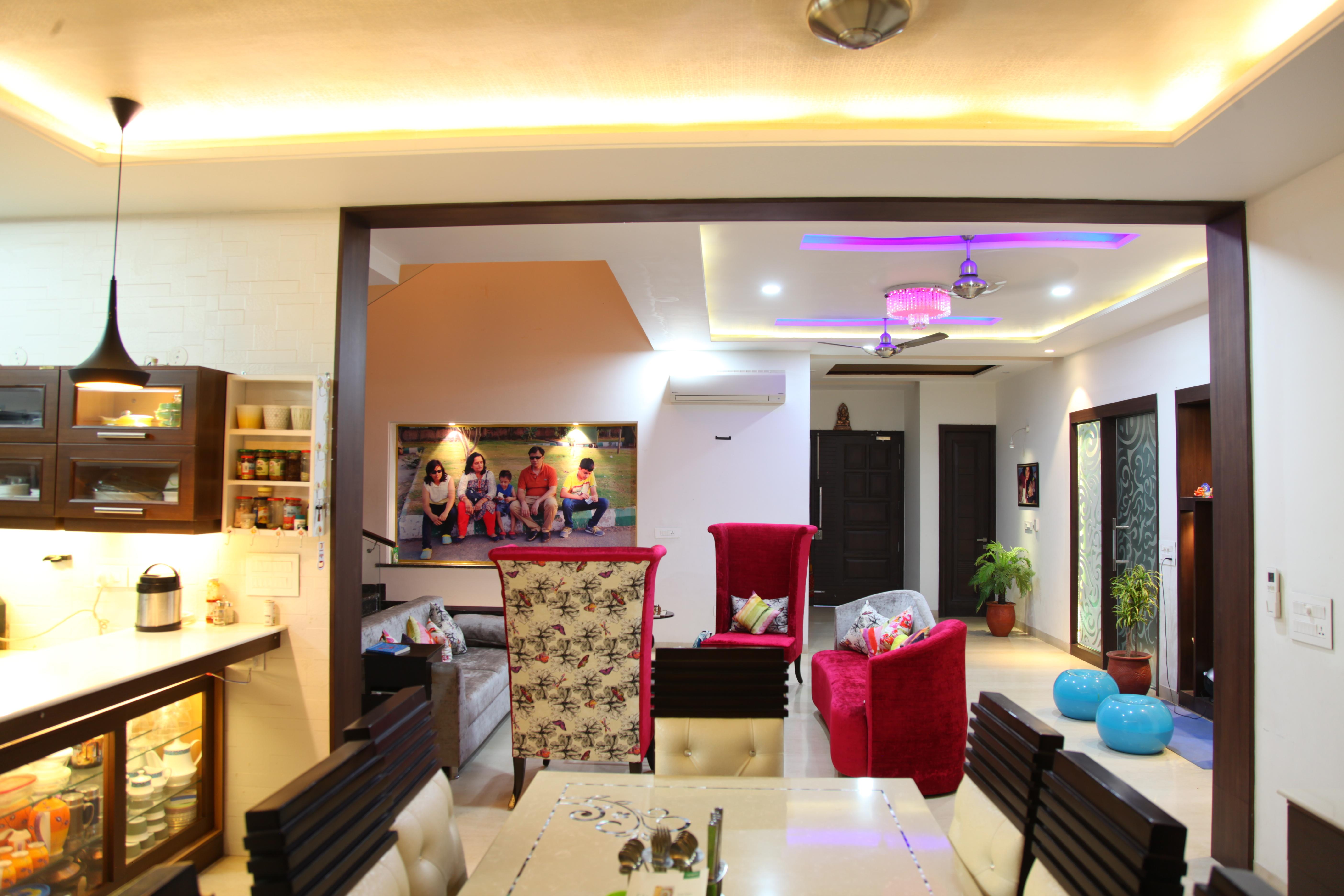 Lobby of beautiful home