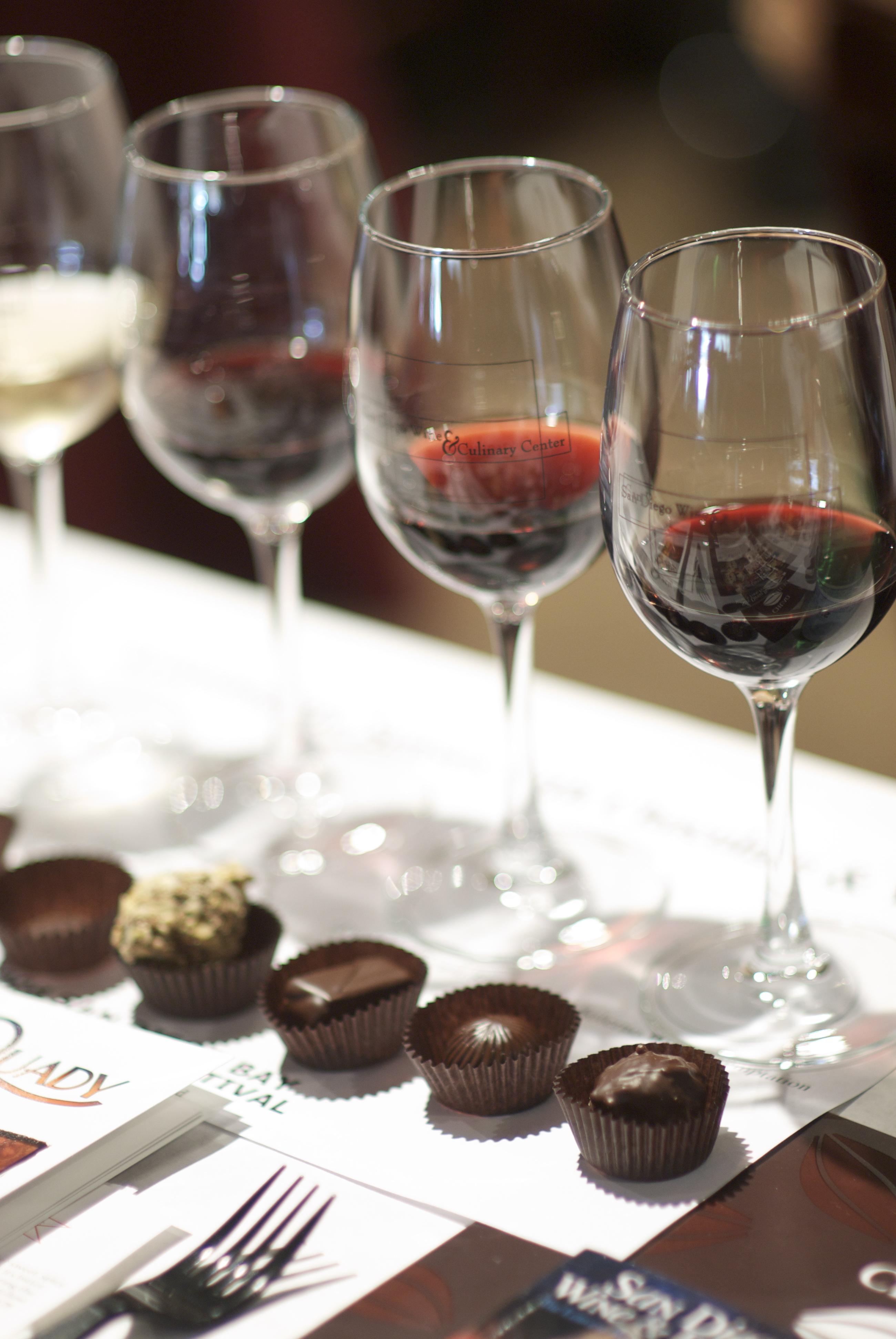 Wine Pairing with Chocolate