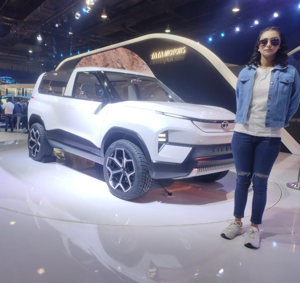 auto expo 2020 Tata Sierra EV
